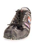 Zapatos adolescentes modernos Imágenes de archivo libres de regalías