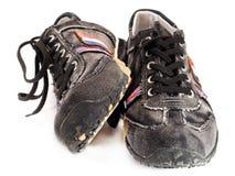 Zapatos adolescentes modernos Fotos de archivo