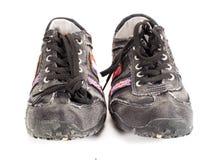 Zapatos adolescentes modernos Imagen de archivo libre de regalías