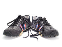 Zapatos adolescentes modernos Fotografía de archivo libre de regalías