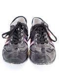 Zapatos adolescentes modernos Fotografía de archivo