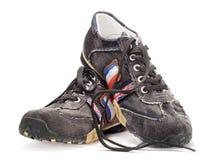 Zapatos adolescentes modernos Imagenes de archivo