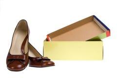 Zapatos aislados Fotografía de archivo libre de regalías