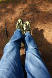 Zapatos al aire libre imágenes de archivo libres de regalías