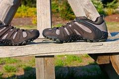 Zapatos al aire libre fotos de archivo libres de regalías
