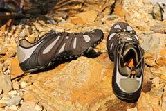 Zapatos al aire libre fotografía de archivo