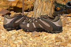 Zapatos al aire libre imagen de archivo libre de regalías