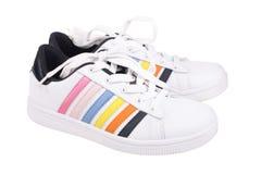Zapatos atléticos Imagen de archivo libre de regalías
