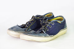 Zapatos azules Imágenes de archivo libres de regalías