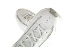 Zapatos blancos Imagenes de archivo