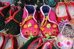 Zapatos chinos hermosos del tigre Foto de archivo