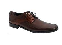 Zapatos con estilo del mens del diseñador foto de archivo libre de regalías