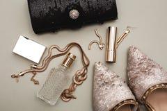 Zapatos con perfume Imagen de archivo