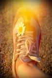 Zapatos corrientes del deporte Foto de archivo