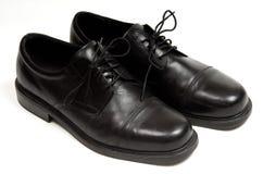Zapatos de alineada de los hombres Foto de archivo libre de regalías