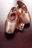 Zapatos de ballet Fotografía de archivo