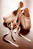 Zapatos de ballet Foto de archivo