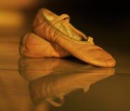 Zapatos de ballet fotos de archivo