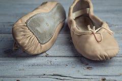 Zapatos de ballet foto de archivo libre de regalías