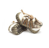 Zapatos de bebé Fotografía de archivo libre de regalías
