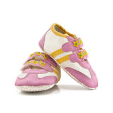 Zapatos de bebé Foto de archivo libre de regalías