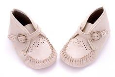 Zapatos de bebé 2 Imágenes de archivo libres de regalías