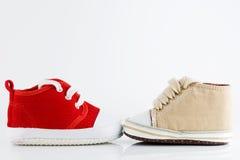 Zapatos de bebé Fotos de archivo