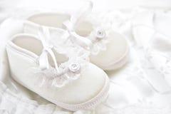 Zapatos de bebé Imagen de archivo