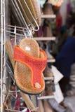 Zapatos de bebé para la venta Fotografía de archivo