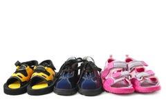 Zapatos de bebé Fotografía de archivo