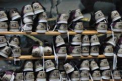 Zapatos de bolos Foto de archivo libre de regalías