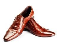 Zapatos de Brown imagen de archivo libre de regalías
