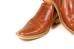 Zapatos de Brown Imagenes de archivo