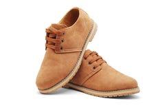 Zapatos de cuero Imagen de archivo