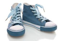 Zapatos de gimnasia Foto de archivo
