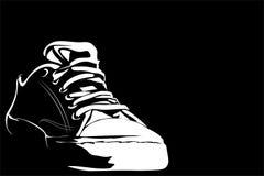 Zapatos de gimnasia Fotos de archivo libres de regalías