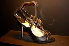 Zapatos de Jimmy Choo Imágenes de archivo libres de regalías