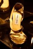 Zapatos de Jimmy Choo Fotografía de archivo