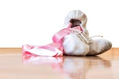 Zapatos de la bailarina fotos de archivo