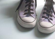 Zapatos de la cesta imagen de archivo