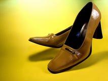 Zapatos de la corte Fotos de archivo libres de regalías