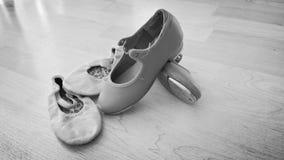 Zapatos de la danza Imágenes de archivo libres de regalías