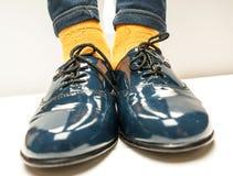 Zapatos de la escuela del hild del ¡de Ð Foto de archivo