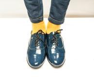 Zapatos de la escuela del hild del ¡de Ð Imagenes de archivo