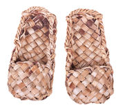 Zapatos de la estopa Foto de archivo libre de regalías