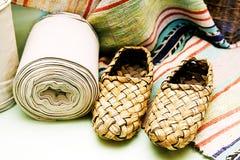 Zapatos de la estopa Imagen de archivo