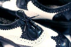 Zapatos de la extremidad de ala Fotografía de archivo libre de regalías