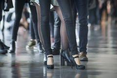 Zapatos de la gente Foto de archivo libre de regalías