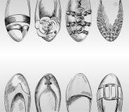 Zapatos de la manera. Imagen de archivo libre de regalías