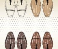 Zapatos de la manera. Imagenes de archivo